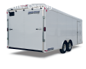 Round Top Enclosed Car Hauler