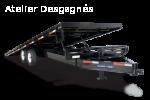 Low Profile Power Tilt Deckover