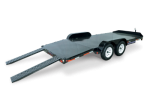 Steel Deck Car Hauler