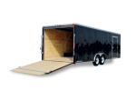 Wedge Front Enclosed Car Hauler